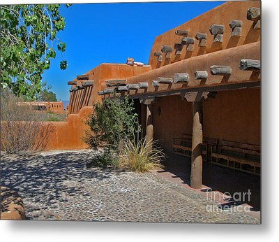 White Sands New Mexico Adobe Metal Print by Gregory Dyer