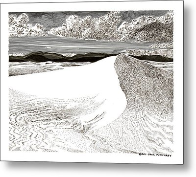 White Sands New Mexico Metal Print by Jack Pumphrey