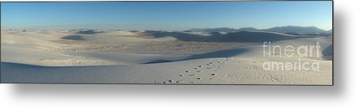 White Sands New Mexico Panorama 02 Metal Print by Gregory Dyer