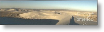 White Sands New Mexico Panorama Metal Print by Gregory Dyer
