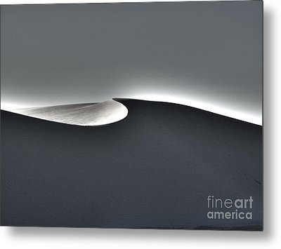 White Sands New Mexico Razor Back Metal Print by Gregory Dyer