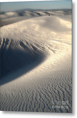 White Sands New Mexico Sand Dunes Metal Print by Gregory Dyer