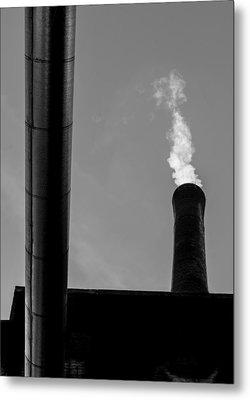 White Smoke Metal Print by Bob Orsillo