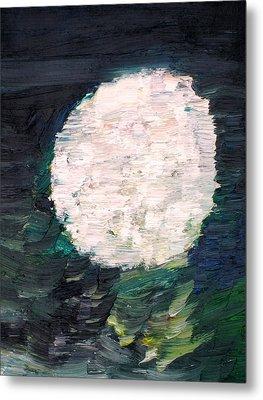 White Sphere Metal Print by Fabrizio Cassetta