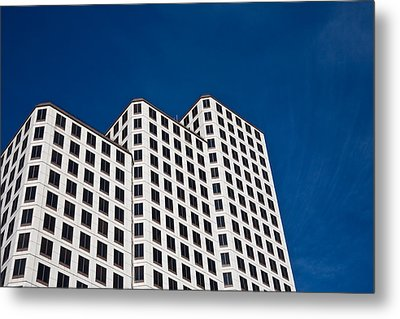 White Towers Metal Print by Mark Weaver