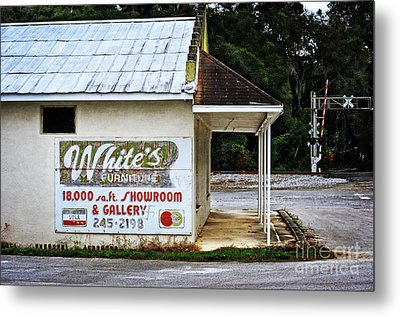 White's Furniture Metal Print by Mary Machare