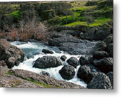 Whitewater At Bear Hole Metal Print