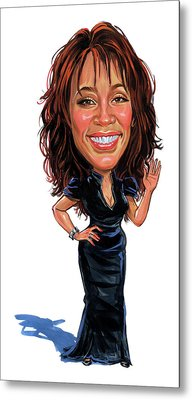 Whitney Houston Metal Print by Art