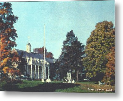 Whittle Hall Metal Print
