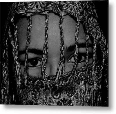 Who Is She Metal Print by Michelle McPhillips