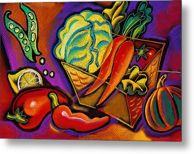 Very Healthy For You Metal Print by Leon Zernitsky
