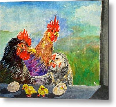 Whose Egg Isthat Metal Print