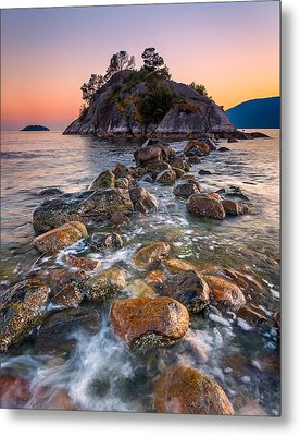 Whyte Islet Metal Print by Alexis Birkill