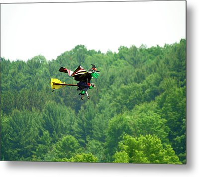 Wicked And Flying Metal Print by Thomas Young