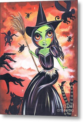 Wicked Witch Of The West Metal Print by Jaz Higgins
