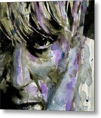 Wide Eyed Boy From Freecloud Metal Print by Paul Lovering