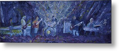 Widespread Panic Painted Live Two Metal Print