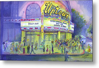 Widespread Panic Uptown Theatre  Metal Print by David Sockrider
