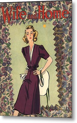 Wife And Home 1940s Uk Womens Magazines Metal Print by The Advertising Archives