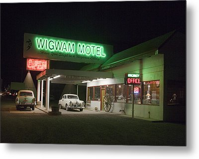 Wigwam Motel In Holbrook Metal Print
