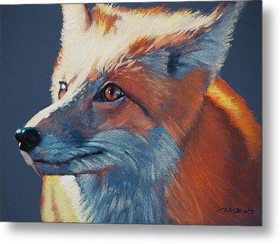 Wilbur Fox Metal Print
