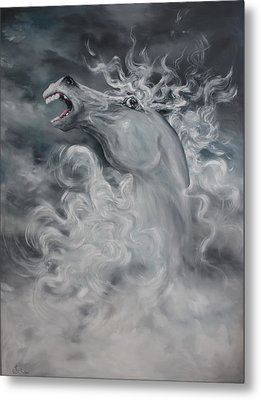 Metal Print featuring the painting Wild And Free by Jean Walker