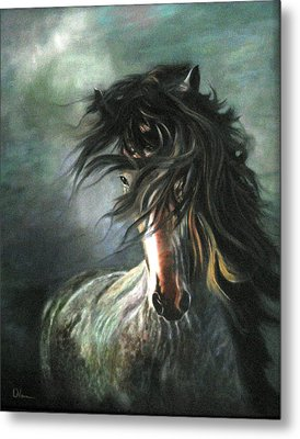 Wild And Free Metal Print by LaVonne Hand