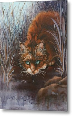 Metal Print featuring the painting Wild At Heart by Cynthia House