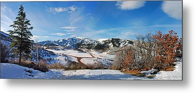Wild Cat Ranch - Snowmass Metal Print by Allen Carroll