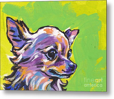 Wild Chi Metal Print by Lea S