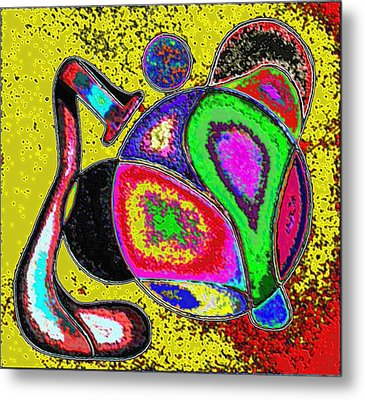 Wild Colors Metal Print by George Curington