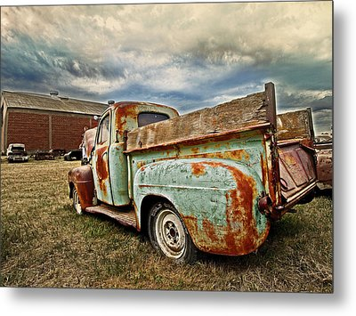 Wild Country Metal Print