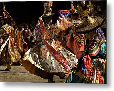 Metal Print featuring the digital art Wild Dance by Angelika Drake
