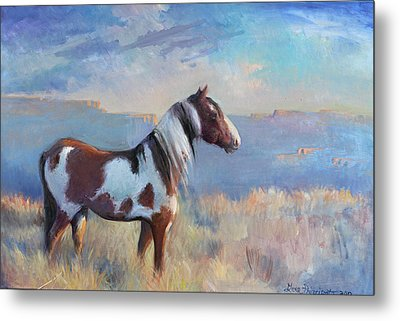 Wild Domain Metal Print by Gwen Carroll