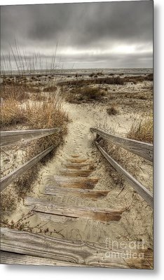 Wild Dunes Beach South Carolina Metal Print by Dustin K Ryan