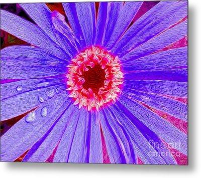 Wild Flower Close Up Metal Print by Jon Neidert