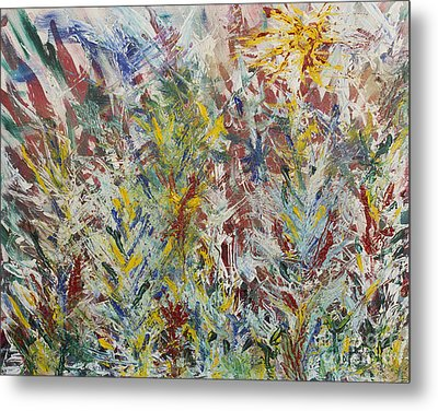 Wild Flowers Metal Print by Andrew J Andropolis
