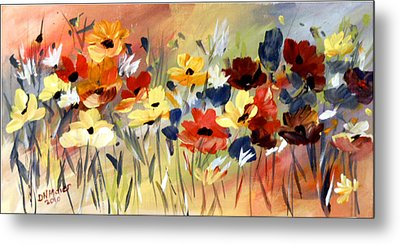 Wild Flowers Metal Print by Dorothy Maier