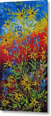 Wild Flowers Metal Print by Katia Aho