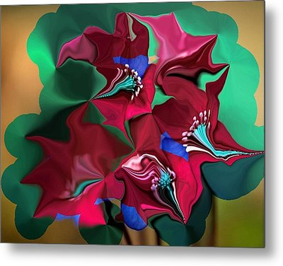 Wild Flowers Metal Print by Mary M Collins