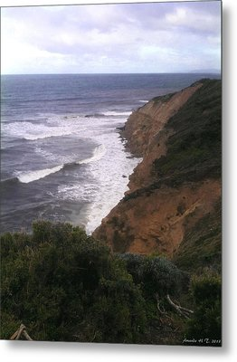 Metal Print featuring the photograph Wild Headland by Amanda Holmes Tzafrir