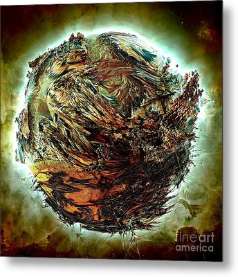 Wild Planet Metal Print by Bernard MICHEL