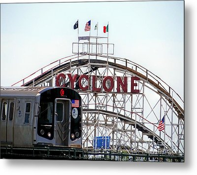 Metal Print featuring the photograph Wild Rides by Ed Weidman