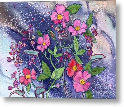 Wild Roses Metal Print