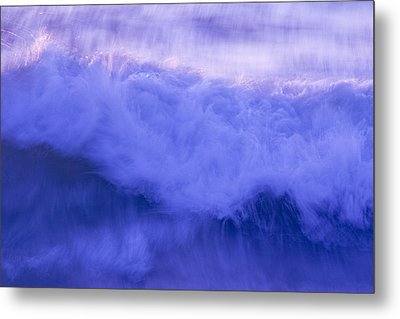Wild Waves Metal Print by Serene Maisey