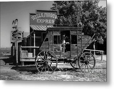 Wild West Stagecoach Metal Print