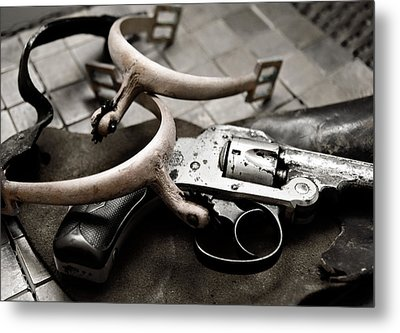Metal Print featuring the photograph Wild West by Susan Leggett