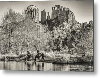 Metal Print featuring the photograph Wild Wild West by Kelly Marquardt