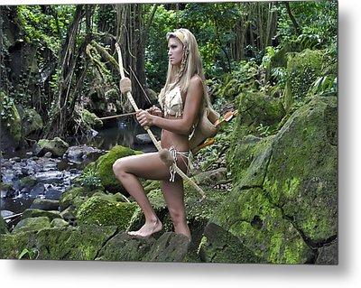 Wild Woman 4 Metal Print