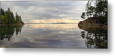 Metal Print featuring the photograph Wildcat Cove Along Chuckanut Drive In Washington by JPLDesigns